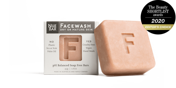 NueBar - Facewash Dry or Mature Skin