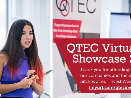 QTEC Investor Showcase goes Virtual