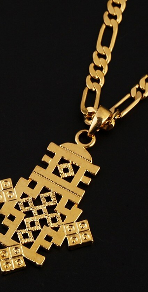 Ethiopian Cross Adornments