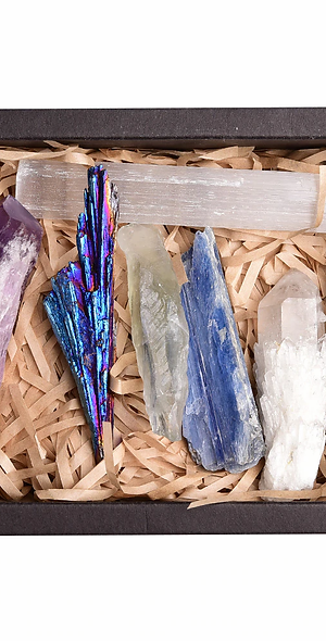 Higher Chakra Crystal Box Set