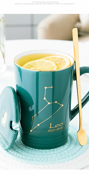 Zodiac Constellation Mug Set