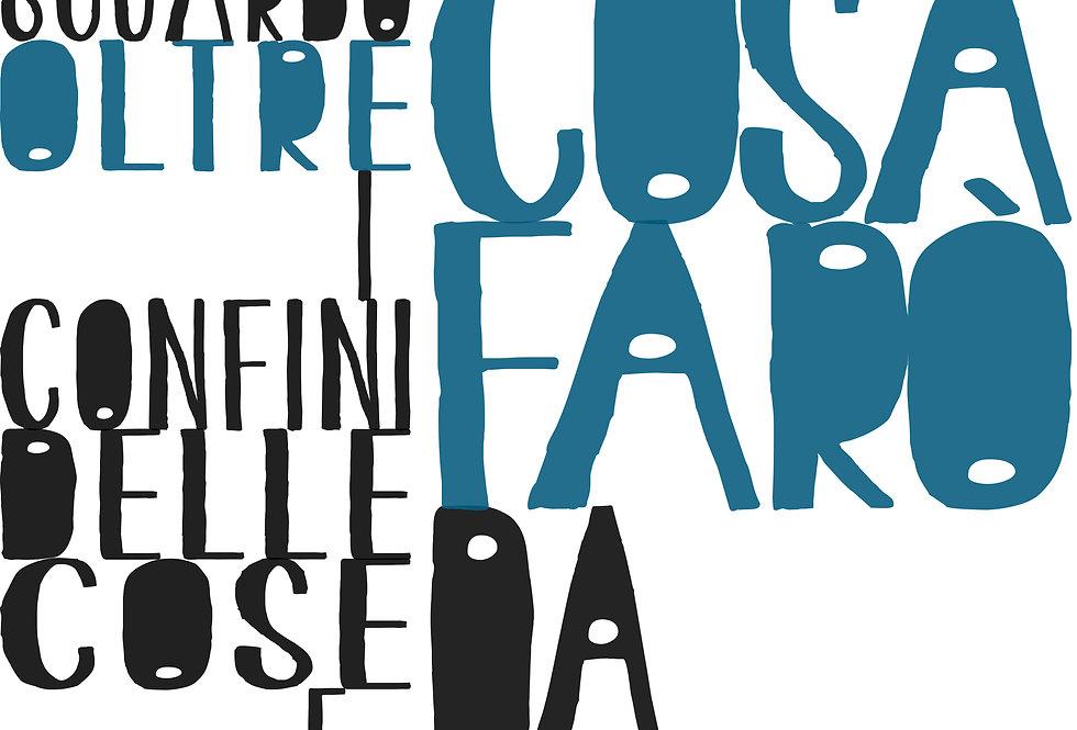 COSA FARO' DA GRANDE - Opera digitale