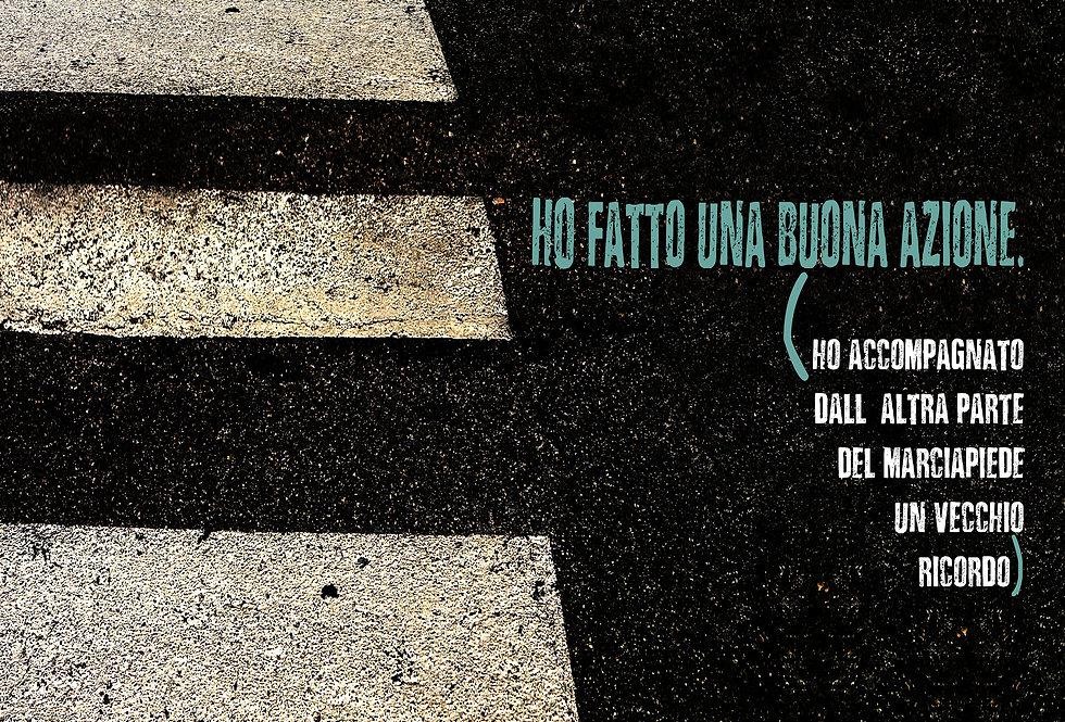 BUONA AZIONE - Opera digitale