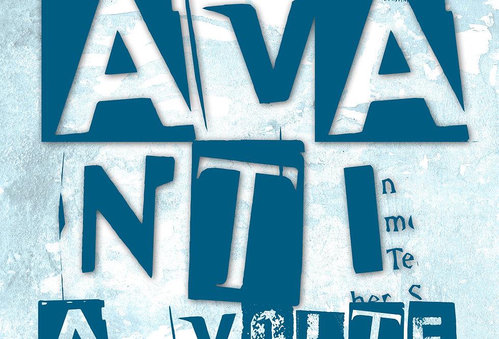 AVANTI E INDIETRO - Opera digitale