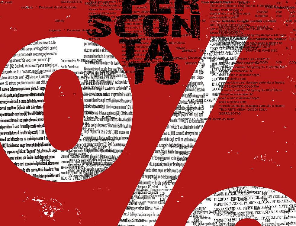 NIENTE PER SCONTATO - Opera digitale