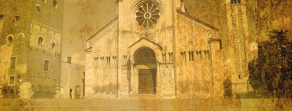 VERONA VINTAGE - SAN ZENO BASILICA - Digital file