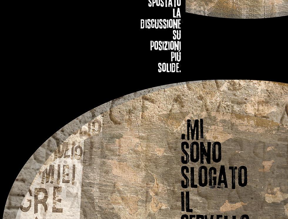 CERVELLO SLOGATO - Opera digitale