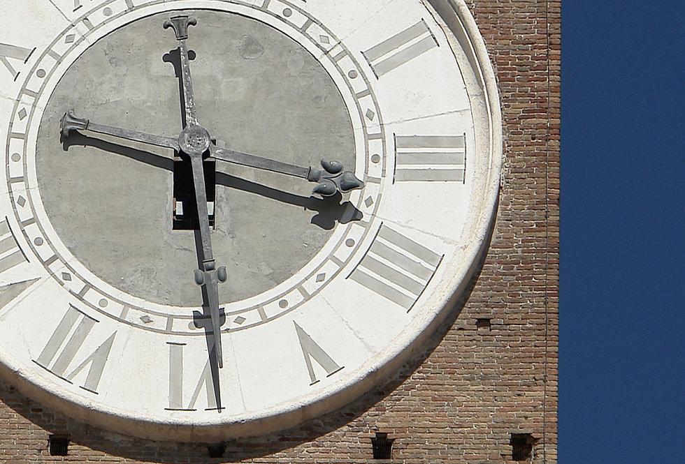 THE TIME - TORRE LAMBERTI - VERONA - Digital file