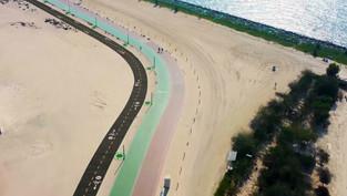 Hamdan bin Mohammed orders construction of 16-km cycling track alongside Jumeirah Beach