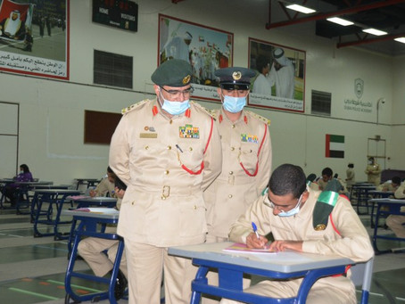 أكاديمية شرطة دبي تبدأ اختبارات الفصل الأول لبكالوريوس العلوم الأمنية والجنائية