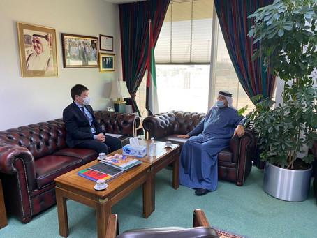 Hamdan bin Rashid orders construction of school in Kyrgyzstan