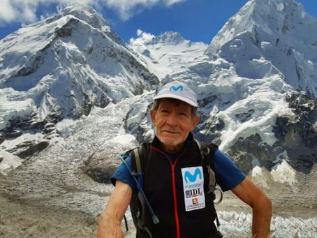 متسلق جبال إسباني بعمر 81 عاما يواصل تسلق أعلى قمم العالم