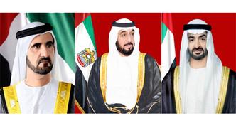 رئيس الدولة ونائبه ومحمد بن زايد يهنئون إبراهيم رئيسي بمناسبة انتخابه رئيسا لإيران