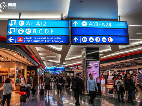 Half a million customers expected at DXB in the first week of the New Year