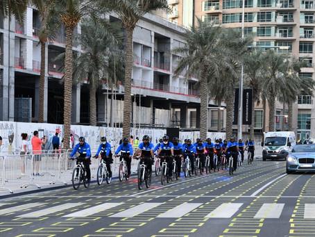 فريق الدراجات الهوائية في شرطة دبي دور فاعل في تعزيز الأمن والأمان وتأمين الفعاليات وتنفيذ المبادرات