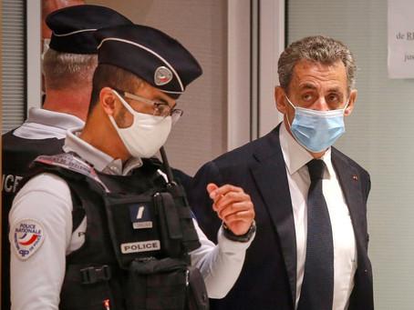 الحكم بسجن الرئيس الفرنسي الأسبق ساركوزي على خلفية اتهام بالرشوة