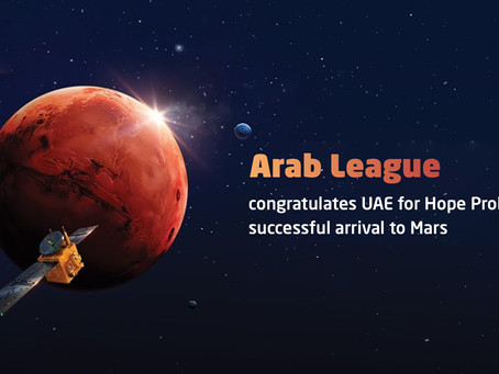 Arab League congratulates UAE for Hope Probe's successful arrival to Mars