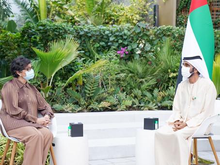 Mohammed bin Rashid receives Spanish Foreign Minister