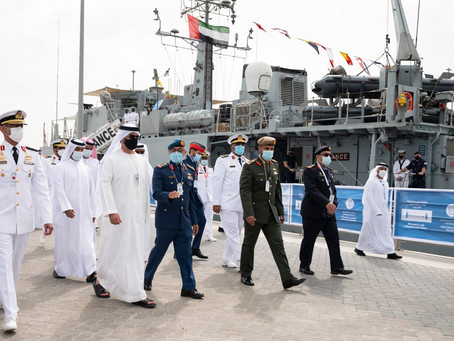 Hamed bin Zayed inaugurates NAVDEX 2021