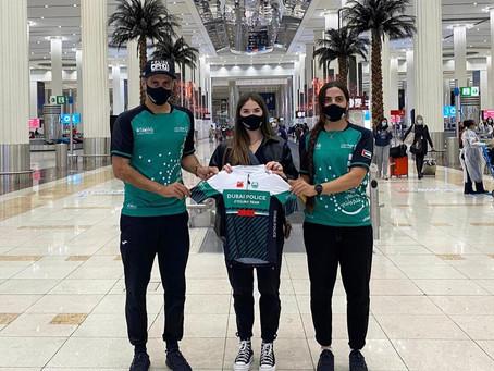 فريق شرطة دبي للدراجات الهوائية للسيدات يضم بطلة إيطاليا