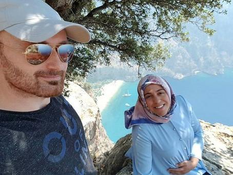 سائح يلتقط فيديو اللحظات الأخيرة للحامل التي رماها زوجها من قمة جبل في تركيا
