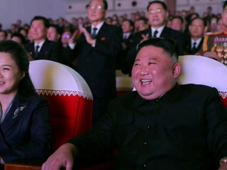 كيم جونغ اون: زوجة زعيم كوريا الشمالية تظهر لأول مرة منذ عام
