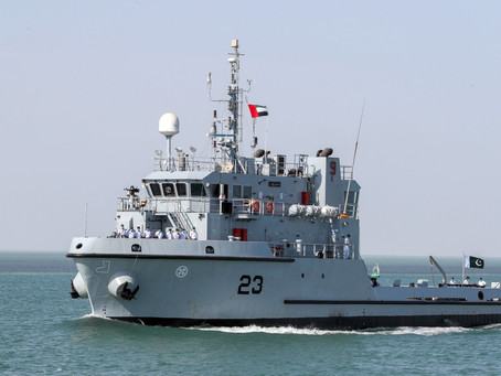 Second shipment of naval military units arrives in Abu Dhabi for NAVDEX 2021