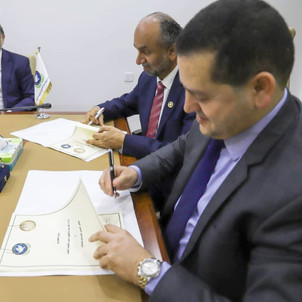 Global Council for Tolerance and Peace signs agreement to open representative office in Libya