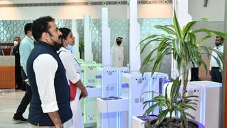 إقامة دبي تطلق خدمة السفر ببصمة العين مع الوجه في مطار دبي