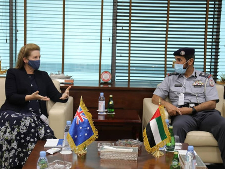 ADP, Australian Ambassador discuss cooperation in area of police and security