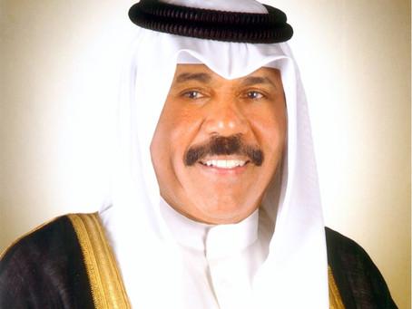 أمير الكويت يعزي القيادة الرشيدة بوفاة حمدان بن راشد