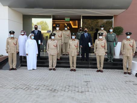 مجالس المبادرات الحكومية في شرطة دبي تكرم الدراج البلوشي وفريق الدراجات
