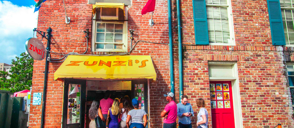 Zunzi's ~ Savannah, GA