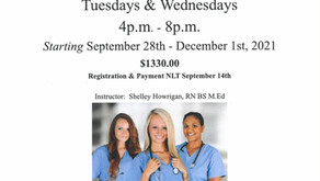 Adult Ed   LNA Course starts September 28th