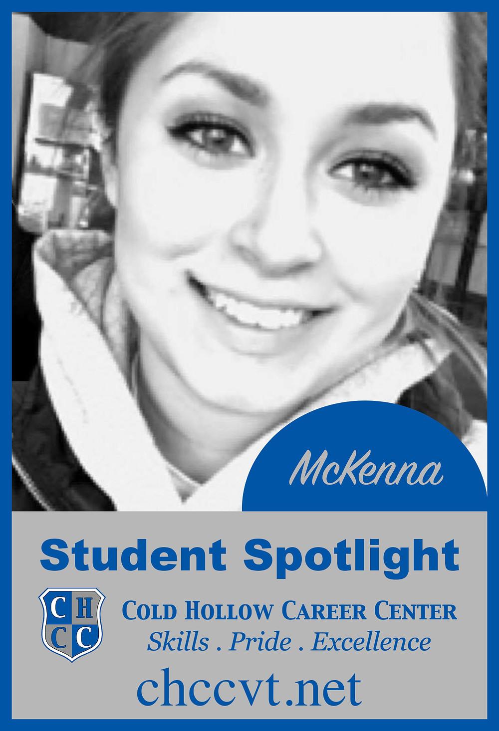 McKenna Gendron Student Spotlight