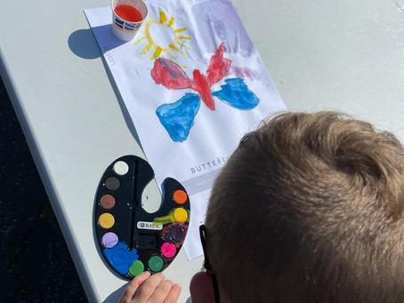 Summer Camp Art Lesson Kickoff