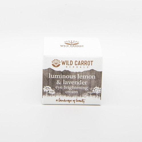 Luminous Lemon + Lavender Eye Brightening Cream
