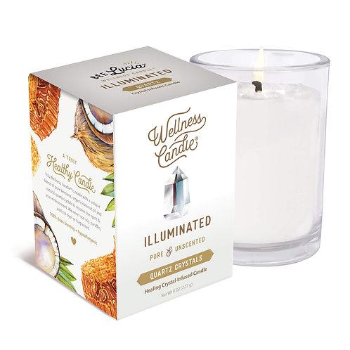 Wellness Candle - Illuminated (8 oz)