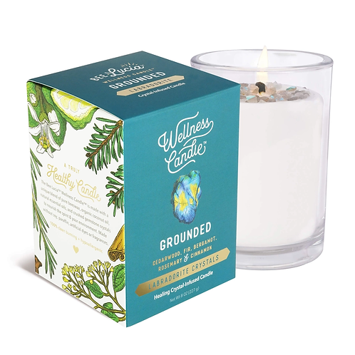 Wellness Candle - Grounded (8 oz)