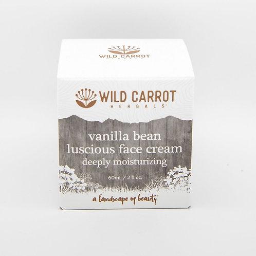 Vanilla Bean Luscious Face Cream