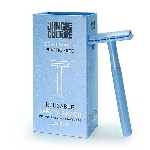 Reusable Safety Razor - Blue