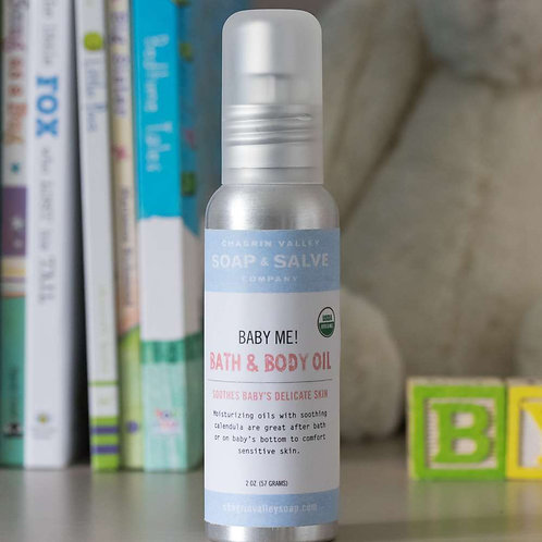 Baby Me! Bath, Body + Massage Oil
