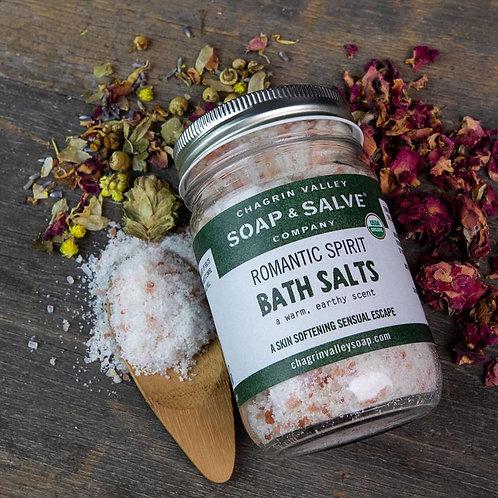 Romantic Spirits Bath Salts