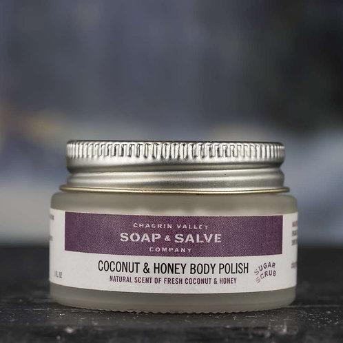 Coconut + Honey Body Polish (Sugar Scrub)