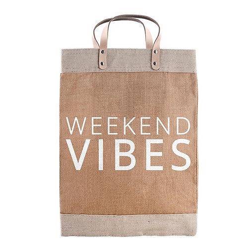 Market Tote - Weekend Vibes