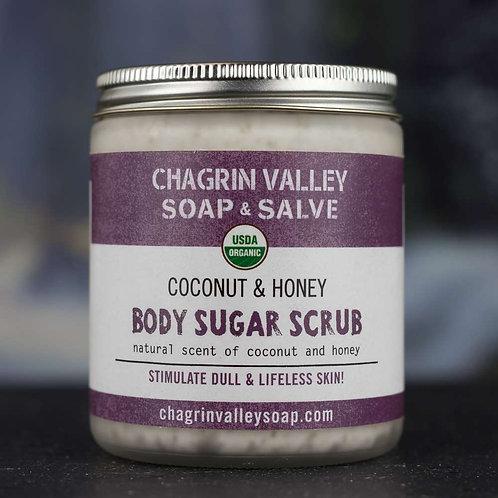 Coconut + Honey Body Sugar Scrub