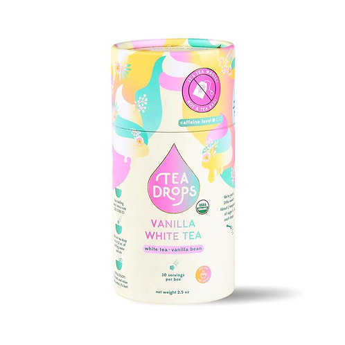 Vanilla White Tea Drops