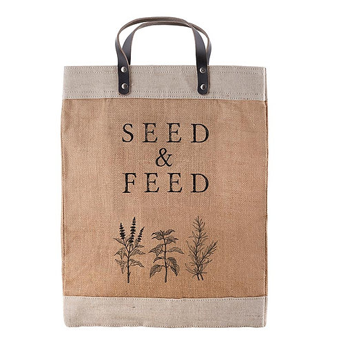 Market Tote - Seed & Feed