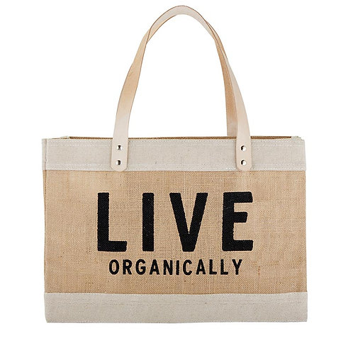 Market Tote - Live Organically