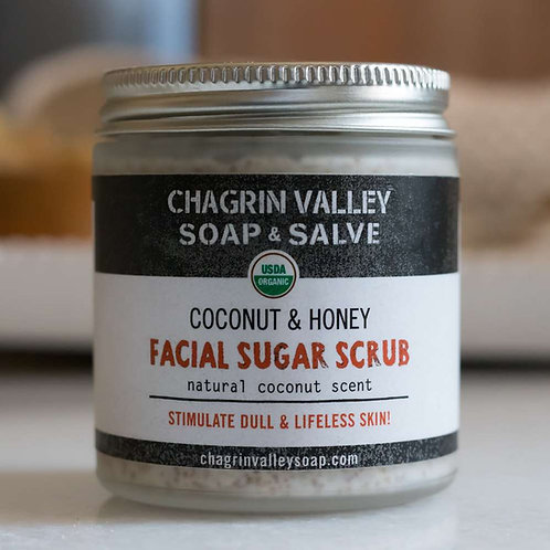 Coconut + Honey Facial Sugar Scrub